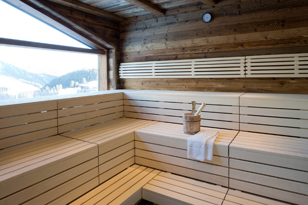 Hotel Walserstube Warth - Wellness area